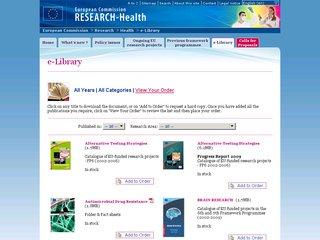 Europa's e-library
