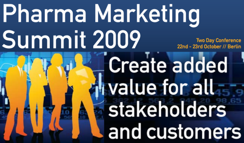 Pharma Marketing Summit 2009 eyeforpharma.com